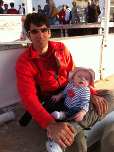 Relaxing after the last Palma Vela race