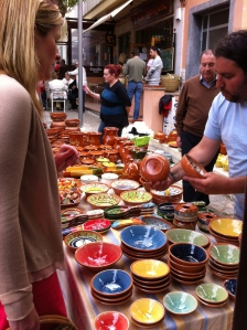 Traditional Mallorquin pottery