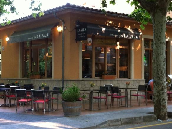 A local resto, La Vila
