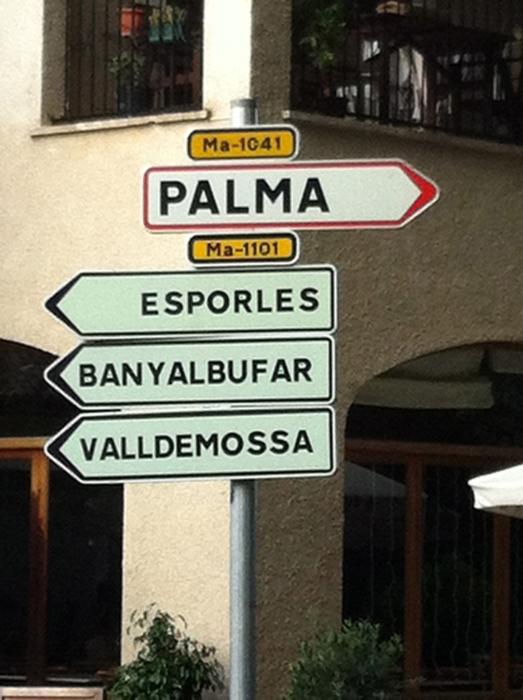 The road to Palma, the main city, or as I call it, civilization ;)