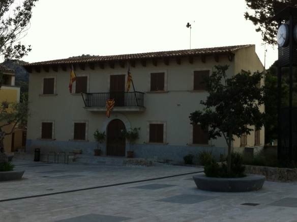 The town hall, or Ayuntamiento