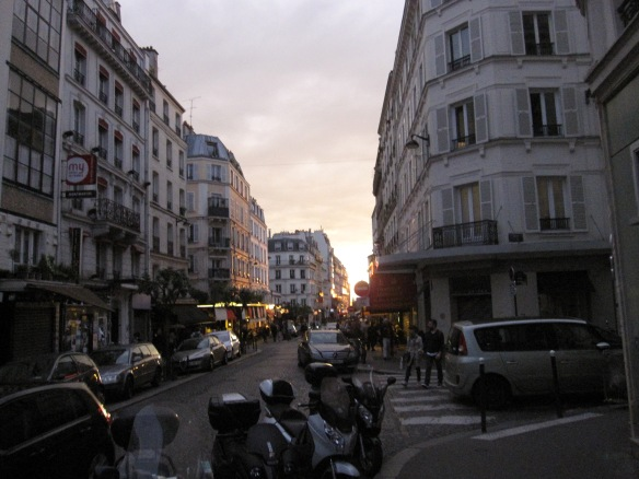 Montmartre on rue des Abbesses