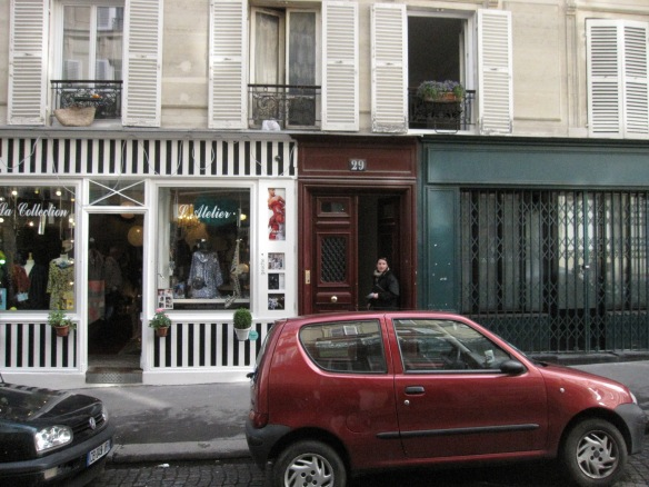 Our building on rue Durantin