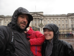 Drowned rats at Buckingham Palace