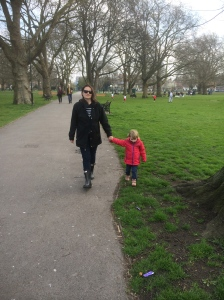 Strolling through London Fields, Hackney